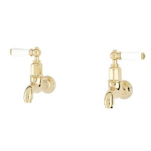 4322 Perrin & Rowe Mayan Wall Mounted Taps with Lever Handles